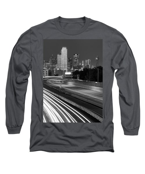 Dallas Arrival Bw Long Sleeve T-Shirt