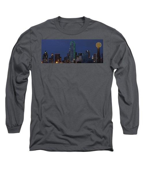 Dallas Skyline Long Sleeve T-Shirt