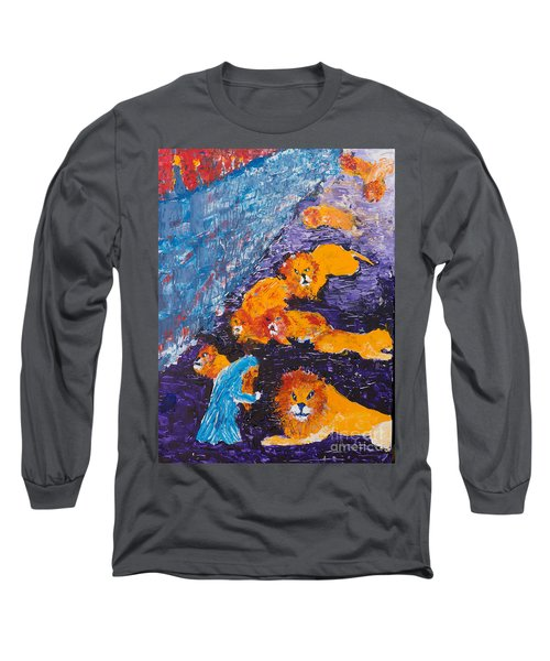 Daniel And The Lions Long Sleeve T-Shirt