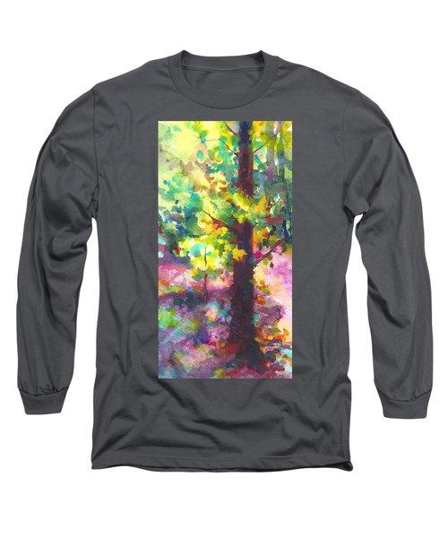 Dappled - Light Through Tree Canopy Long Sleeve T-Shirt