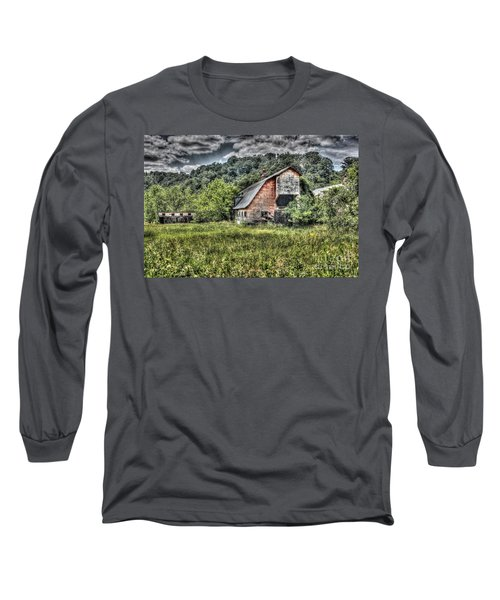 Dark Days For The Farm Long Sleeve T-Shirt