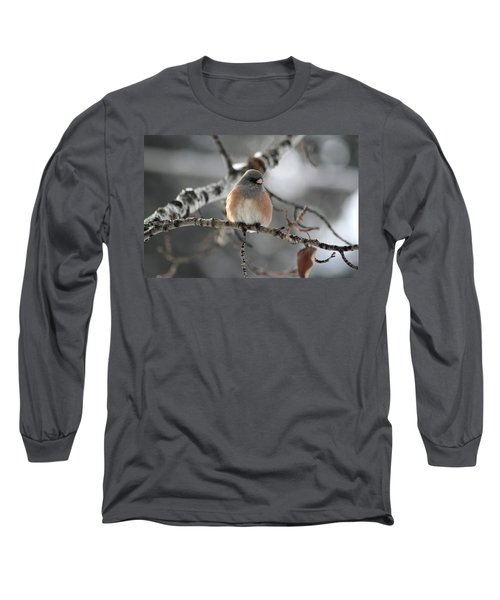 Dark-eyed Junco Long Sleeve T-Shirt