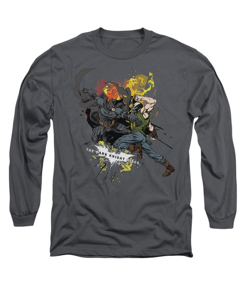 Dark Knight Rises - Fight For Gotham Long Sleeve T-Shirt