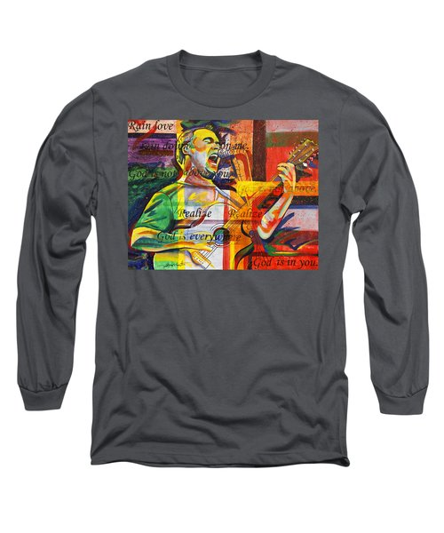 Dave Matthews-bartender Long Sleeve T-Shirt by Joshua Morton