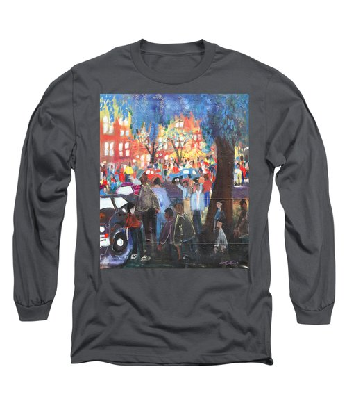 D.c. Market Long Sleeve T-Shirt by Leela Payne