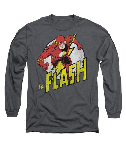 Dc - Run Flash Run Long Sleeve T-Shirt