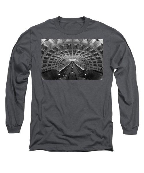D.c. Subway Long Sleeve T-Shirt by Dustin  LeFevre