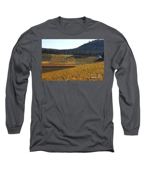 golden vines-Victoria-Australia Long Sleeve T-Shirt