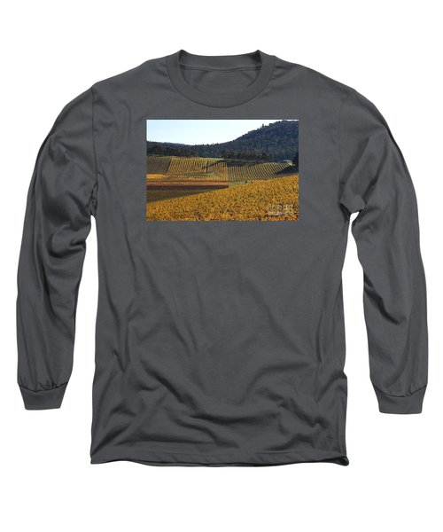 golden vines-Victoria-Australia Long Sleeve T-Shirt