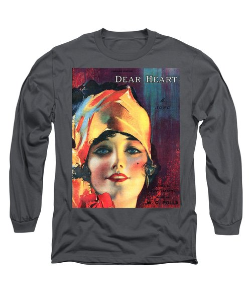 Dear Heart Long Sleeve T-Shirt by Steve Archbold