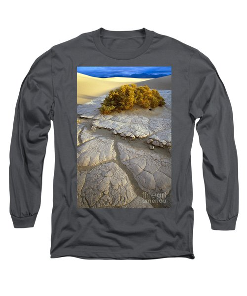 Death Valley Mudflat Long Sleeve T-Shirt