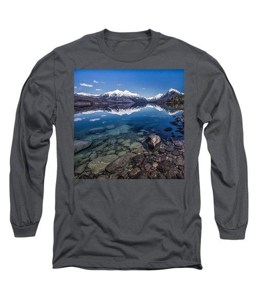 Deep Freeze Long Sleeve T-Shirt by Aaron Aldrich