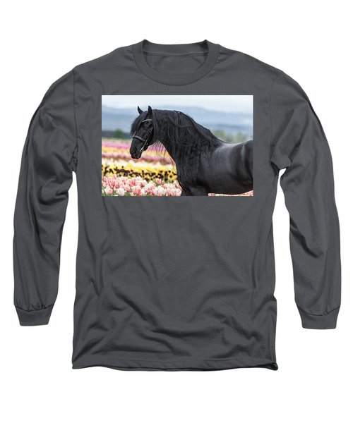 Deep In The Fields Long Sleeve T-Shirt