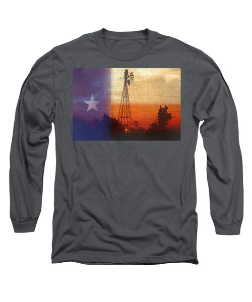 Deep In The Heart 2 Long Sleeve T-Shirt by Stephen Anderson