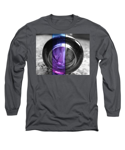 Long Sleeve T-Shirt featuring the photograph Deep Thoughts Part Three by Sir Josef - Social Critic - ART