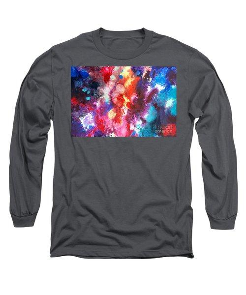 Deep Water Coral Long Sleeve T-Shirt