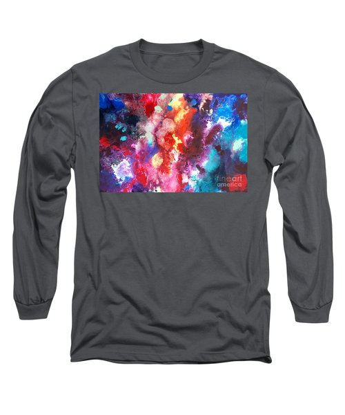 Deep Water Coral Long Sleeve T-Shirt
