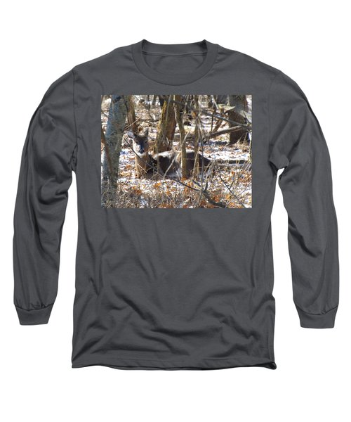 Deer Impressions Long Sleeve T-Shirt