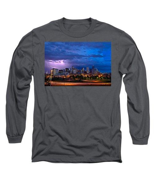 Denver Skyline Long Sleeve T-Shirt