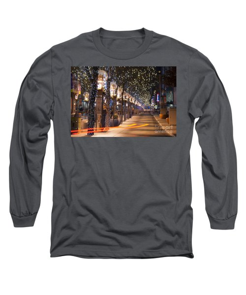 Denver's 16th Street Mall At Christmas Long Sleeve T-Shirt