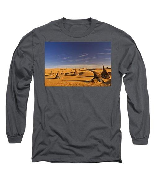 Desert Village Long Sleeve T-Shirt