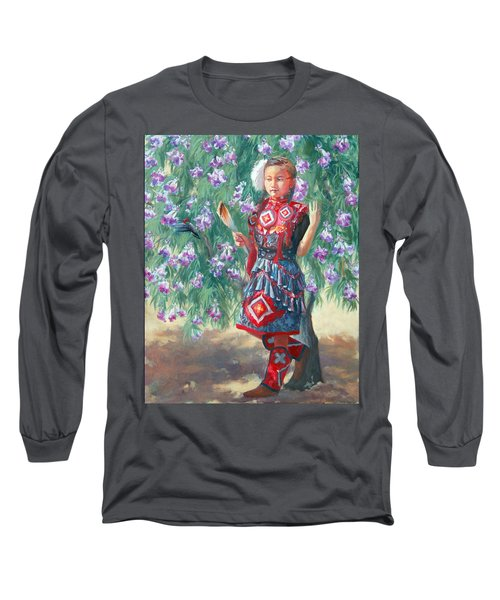 Desert Willow Long Sleeve T-Shirt