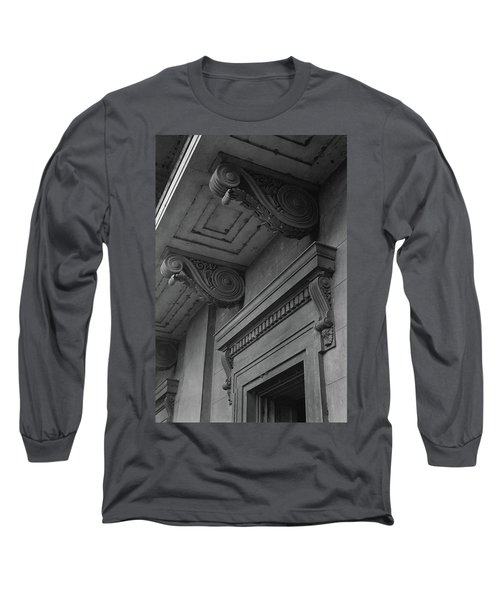 Detail Of Exterior Molding At A Plantation Home Long Sleeve T-Shirt