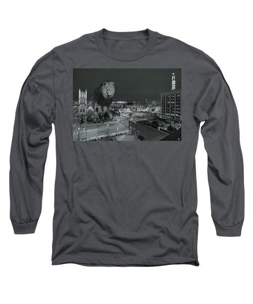 Detroit Lions Long Sleeve T-Shirt