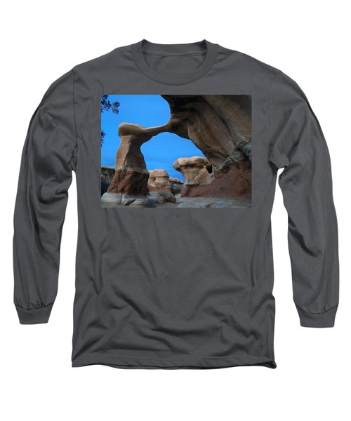 Devil's Garden Metate Arch 004 Long Sleeve T-Shirt