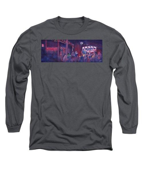 Dewey Paul Band At The Goat Nye Long Sleeve T-Shirt