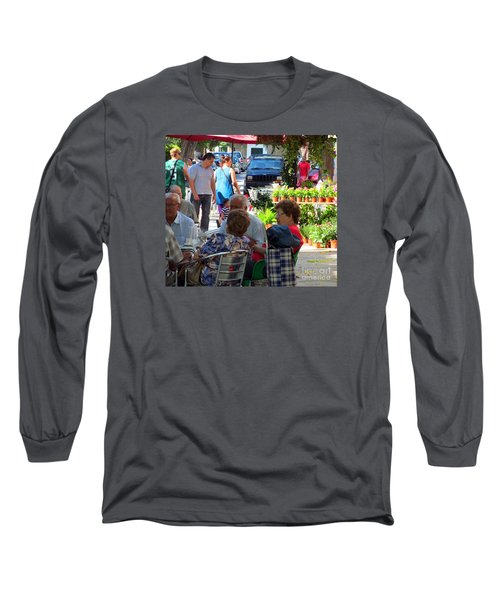 Long Sleeve T-Shirt featuring the photograph Did You Say You Went On Vacation? by Tina M Wenger