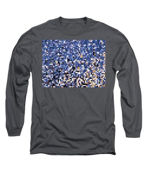 Digital Sunset Long Sleeve T-Shirt
