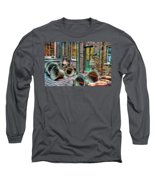 Long Sleeve T-Shirt featuring the photograph Ding Dong Hosiptal by Ron Shoshani