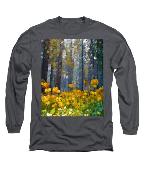 Distorted Dreams By Day Long Sleeve T-Shirt