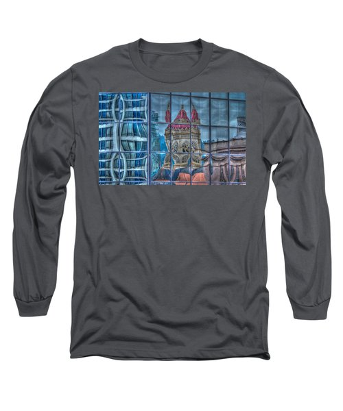 Distorted Portland Long Sleeve T-Shirt by Jean Noren