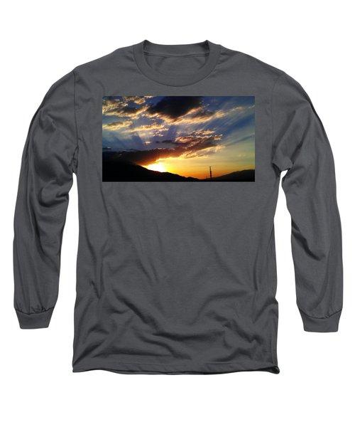 Divine Sunset Long Sleeve T-Shirt by Chris Tarpening