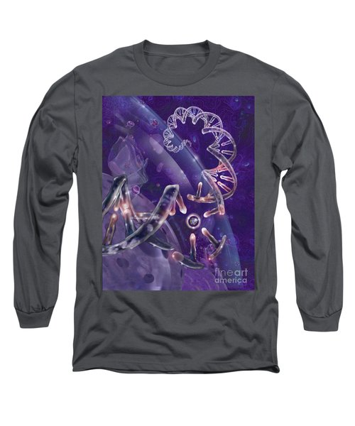 Dna With Protein Long Sleeve T-Shirt