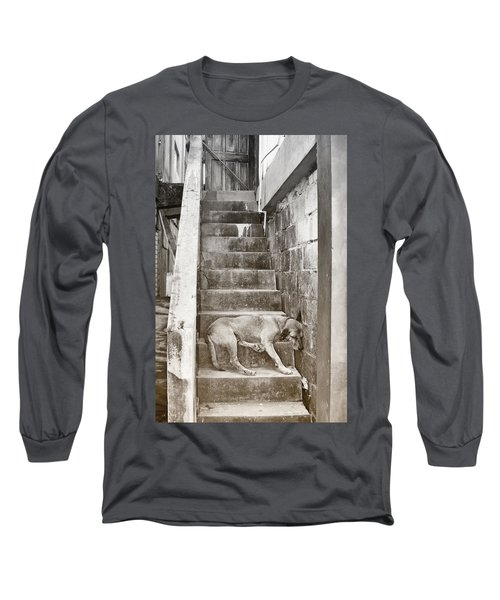 Dog Tired Long Sleeve T-Shirt