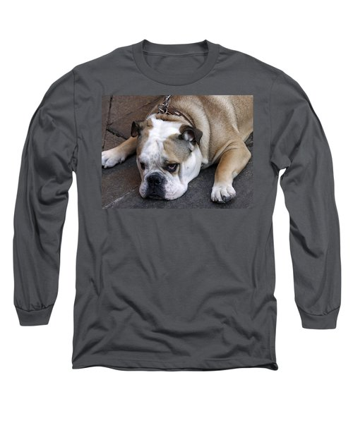 Dog. Tired. Long Sleeve T-Shirt