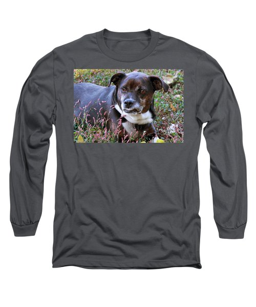 Long Sleeve T-Shirt featuring the photograph Dogg by Bonnie Willis