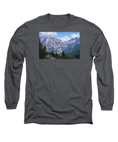 Dolomite Mountain View Long Sleeve T-Shirt