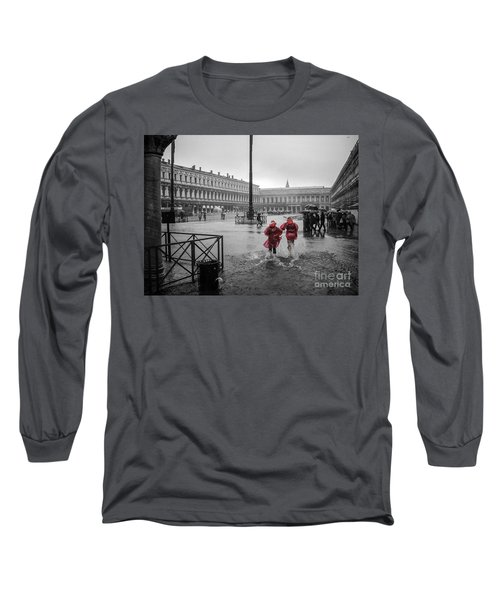 Long Sleeve T-Shirt featuring the photograph Don't Postpone Joy by Peta Thames