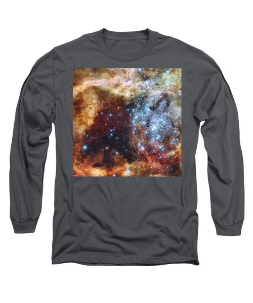 Doradus Nebula Long Sleeve T-Shirt by Barry Jones