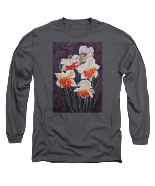 Double Daffodil Replete Long Sleeve T-Shirt