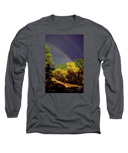 Double Rainbow Autumn Long Sleeve T-Shirt