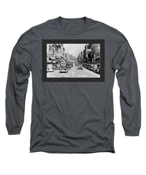 Downtown Bristol Va Tn 1931 Long Sleeve T-Shirt