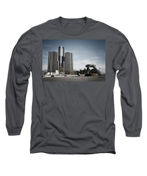 Downtown Detroit Long Sleeve T-Shirt