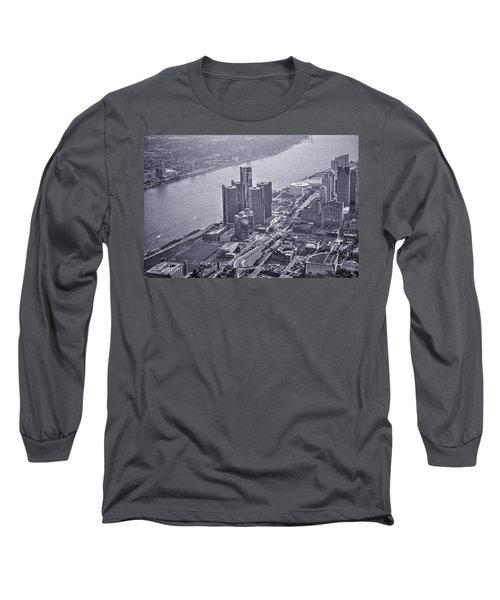 Downtown Detroit Long Sleeve T-Shirt