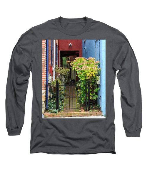 Downtown Garden Path Long Sleeve T-Shirt