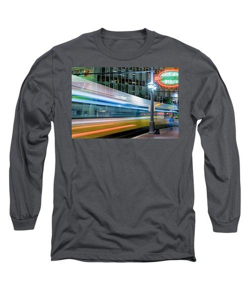Downtown Train Long Sleeve T-Shirt